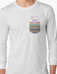 Pokemon Mew in a Pocket Long Sleeve T-Shirt