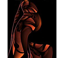 Curvilinear Project No. 194 ( Aztlan Eagle  ) Photographic Print
