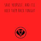 MCR - Save Yourself by Kayleigh Gough