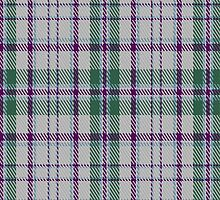 01282 Charlotte White Fashion Tartan Fabric Print Iphone Case by Detnecs2013