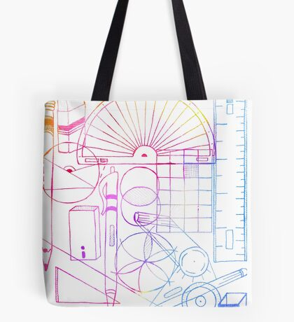 Math & Science Tools 2 Tote Bag
