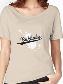 Bukkake splash Women's Relaxed Fit T-Shirt