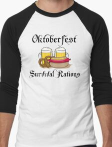 Oktoberfest Suvival Rations Men's Baseball ¾ T-Shirt