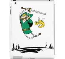 Zelda Adventure Time Finn and Jake iPad Case/Skin