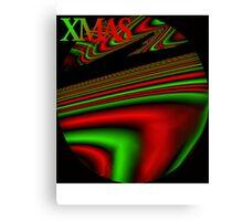 Psychedelic Xmas Canvas Print