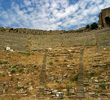 Theatre of Pergamon by Jens Helmstedt