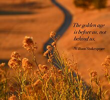 The Golden Lane & Shakespeare - Nevada High Desert by Tricia Mitchell