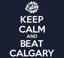 KEEP CALM AND BEAT CALGARY Kids Clothes