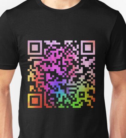 QR code Unisex T-Shirt