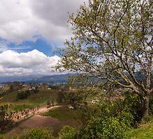 Vista from Cojitambo, Ecuador by Paul Wolf