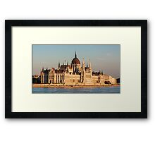 The Hungarian Parliament Building Framed Print