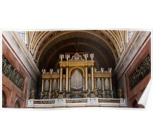 Organ of the Esztergom Cathedral Poster