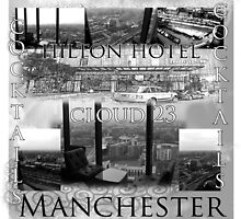 Photography Art Hilton hotel cloud 23 by Michelle Oakes