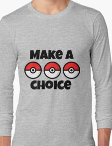 Pokemon Long Sleeve T-Shirt