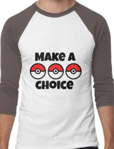 Pokemon Men's Baseball ¾ T-Shirt