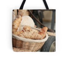 Fresh Bread and Croissants Tote Bag