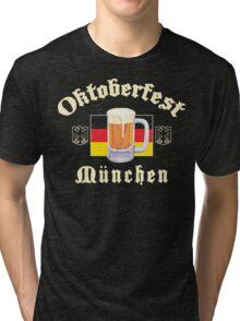 Oktoberfest Munchen Tri-blend T-Shirt