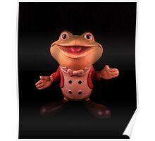 """Plunk your magic twanger, Froggy!"" Poster"