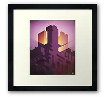 The Iso Castle Framed Print