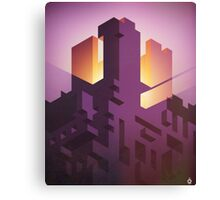 The Iso Castle Canvas Print