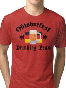 Oktoberfest Drinking Team Tri-blend T-Shirt