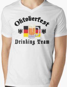 Oktoberfest Drinking Team Mens V-Neck T-Shirt