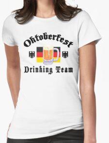Oktoberfest Drinking Team Womens Fitted T-Shirt