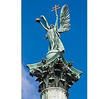 Archangel Gabriel, Budapest, Hungary Photographic Print