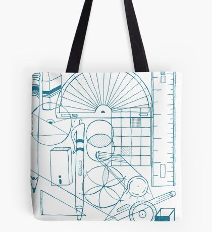 Math & Science Tools 3 Tote Bag