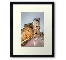 Mysterious Mansion... Framed Print