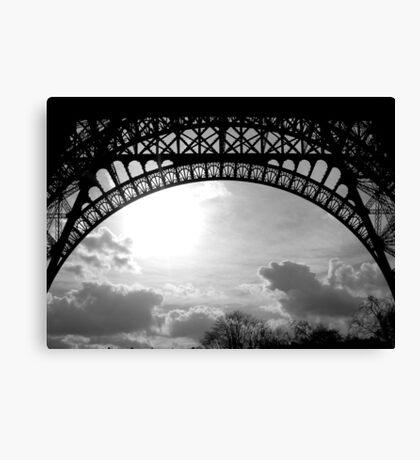 Under Eiffel Canvas Print