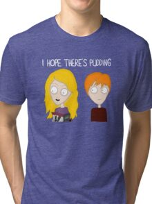 HP – I hope there's pudding Tri-blend T-Shirt
