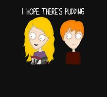 HP – I hope there's pudding Womens Fitted T-Shirt