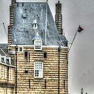Campveerse toren, Veere, Holland by Jacqueline van Zetten