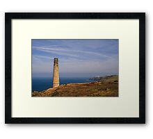 Levant to Pendeen View Framed Print