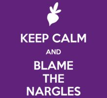 HP – Keep Calm and Blame The Nargles by FanDope