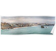 Biarritz Skyline - France Poster