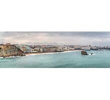 Biarritz Skyline - France Photographic Print