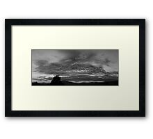 ©HCS Fade on Black Framed Print