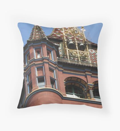 One of the four turrets Throw Pillow