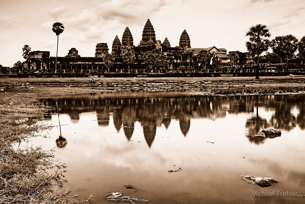 Classic, Angkor Wat, Cambodia by Michael Treloar