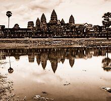 Classic, Angkor Wat, Cambodia by Michael Treloar