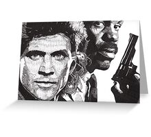 Lethal Weapon Greeting Card