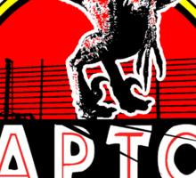 Raptor 3D. Testing the fences since 1993. Sticker