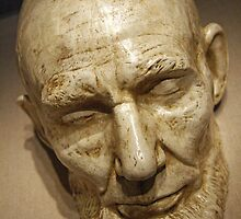 Mask Of Lincoln's Face by Cora Wandel