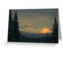 Mt. Adams in the Winter Greeting Card