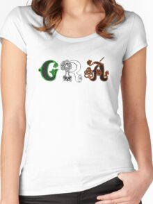 SOLD - GRÁ DESIGN Women's Fitted Scoop T-Shirt