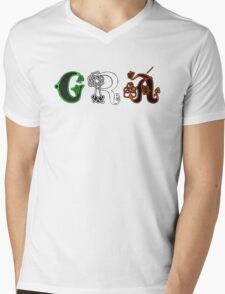 SOLD - GRÁ DESIGN Mens V-Neck T-Shirt