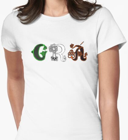 SOLD - GRÁ DESIGN Womens Fitted T-Shirt