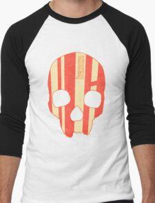 Bacon Skull Men's Baseball ¾ T-Shirt